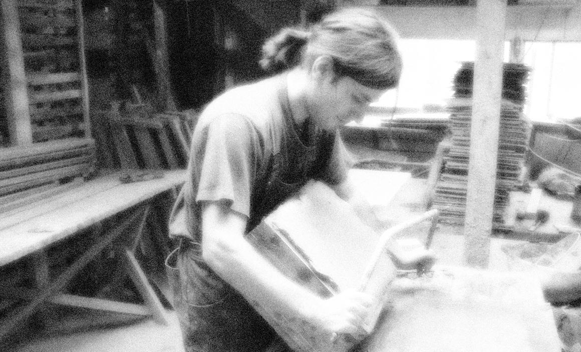 handarbeit terracotta boden fliese altmauer  alte mauer