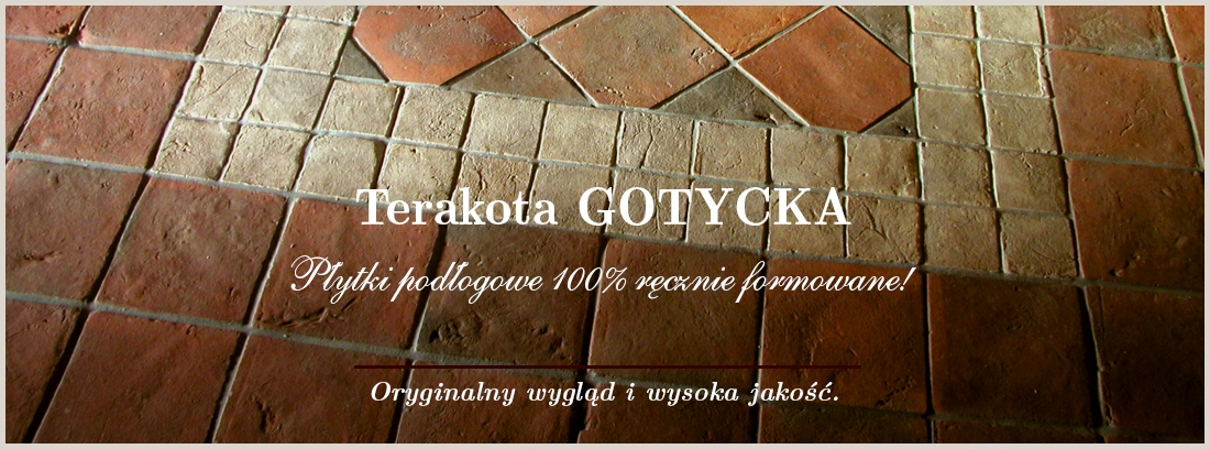 Płytki - Terakota, Terakota Gotycka