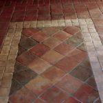 Terakota gotycka, 200x200x15 mm, Nr: G_20x20