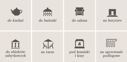Terakota Cotto - do kuchni, łazienki, salonu, na korytarz, taras, ogrzewanie podłogowe, do obiektów zabytkowych, pod kominki